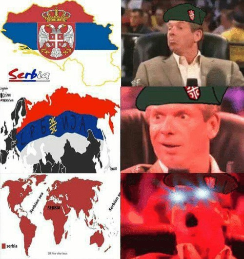 Greater Serbia - meme