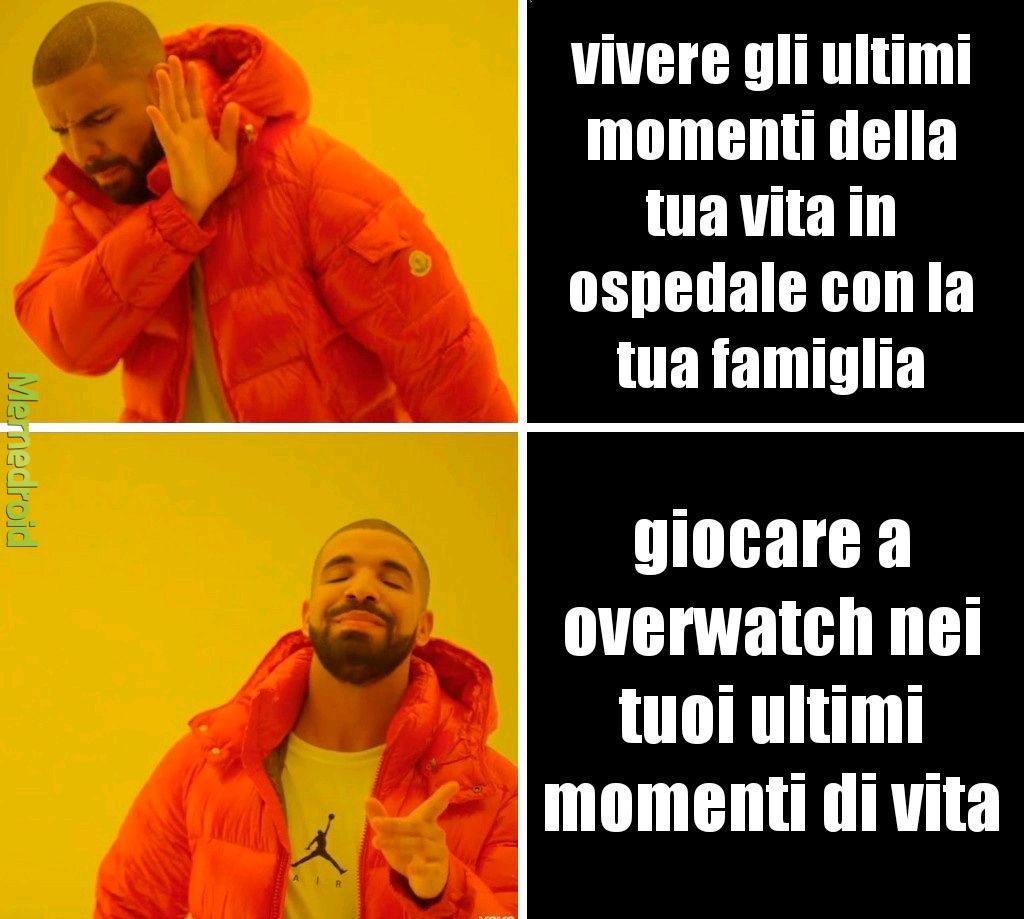 is over the watch of the life (not really) - meme