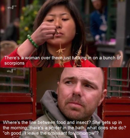 dongs in a food - meme