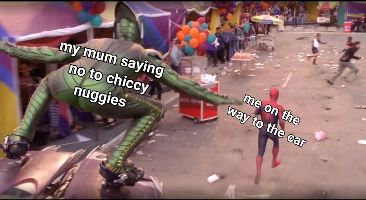 Chiccy nuggies!!! - meme