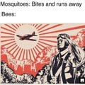 Not the bees!!!!!!!!