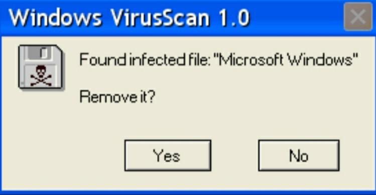 Virus.exe - meme