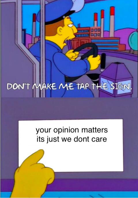 dont make me - meme