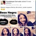 beso negro :v