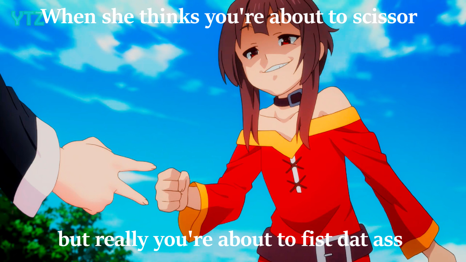 Megumin is best girl - meme