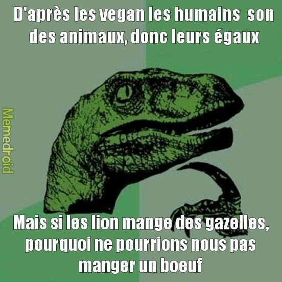 #novegan - meme