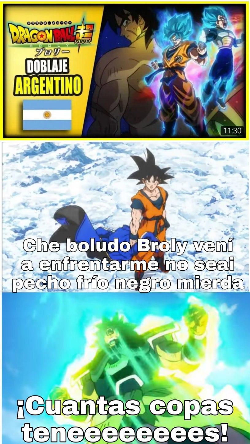 Stos argentinos - meme