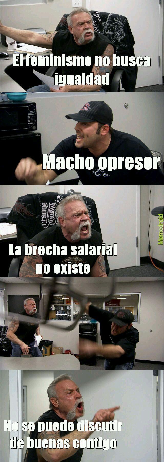 Original acepten (feminismo shit) - meme