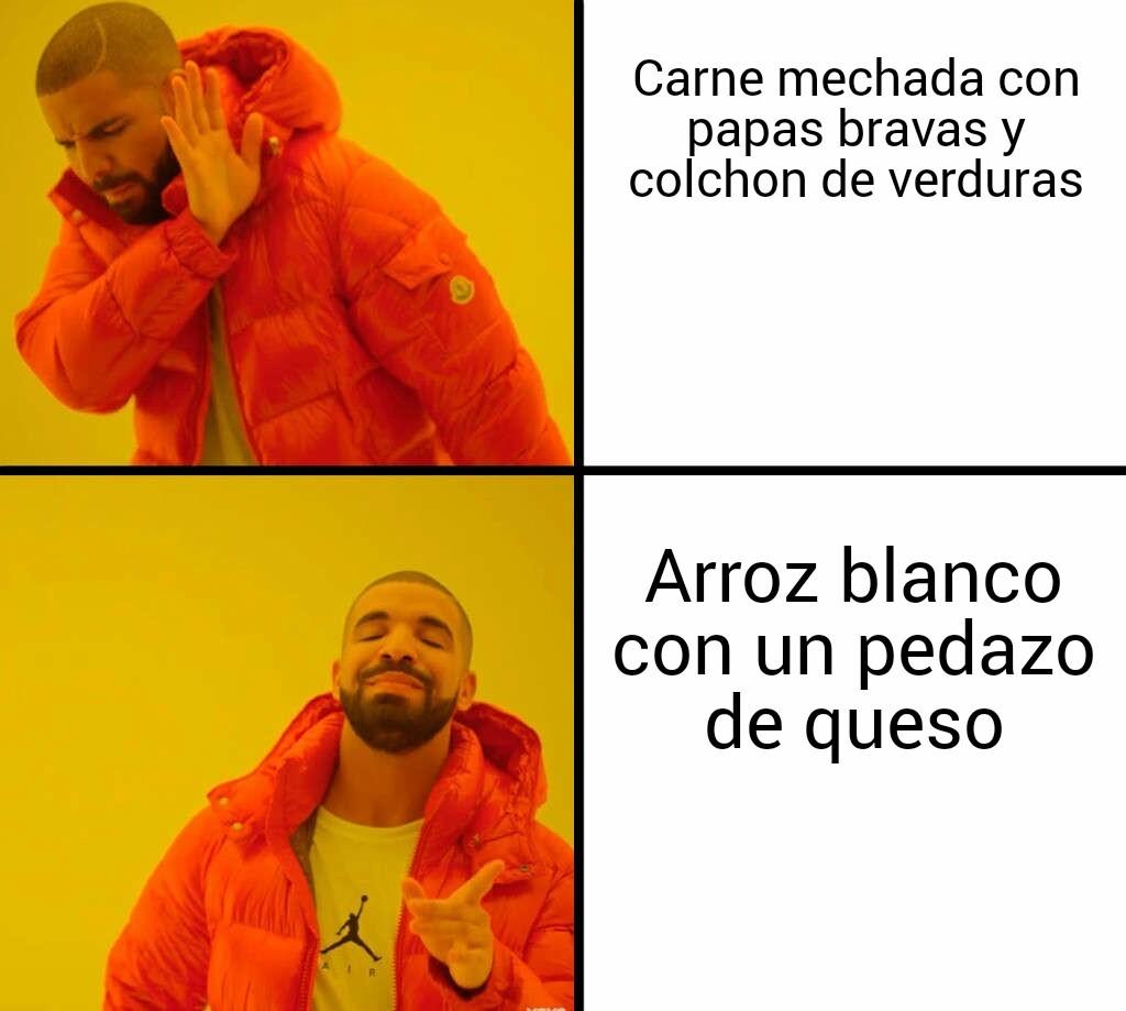 La realidad de muchos - meme