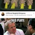 A different spaghetti bolognese...