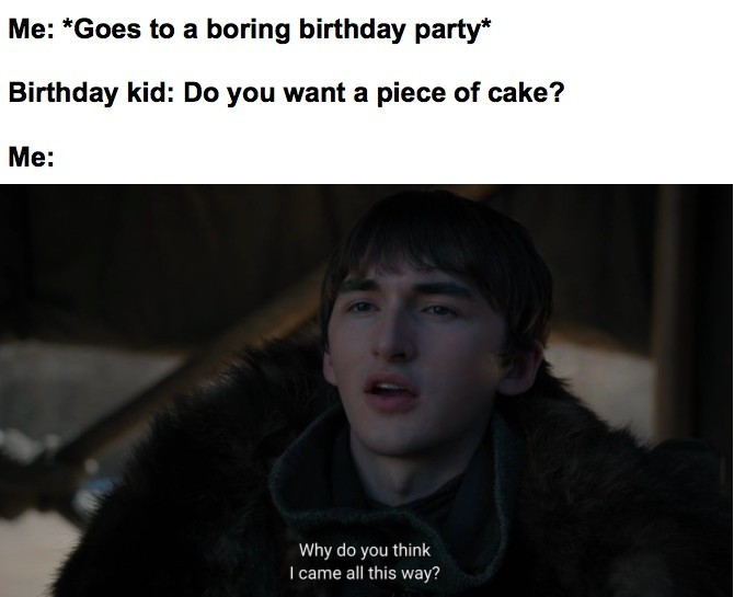 Hmm that's a good cake - meme