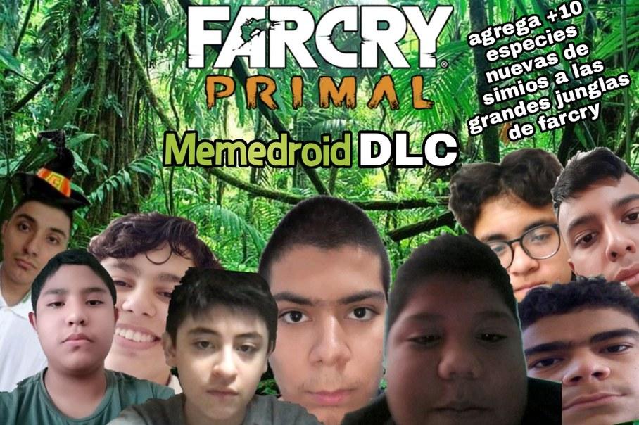 Alto DLC, mira todos esos monos - meme