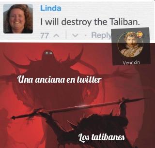 Los talibanes: ni modo toca desaparecer - meme