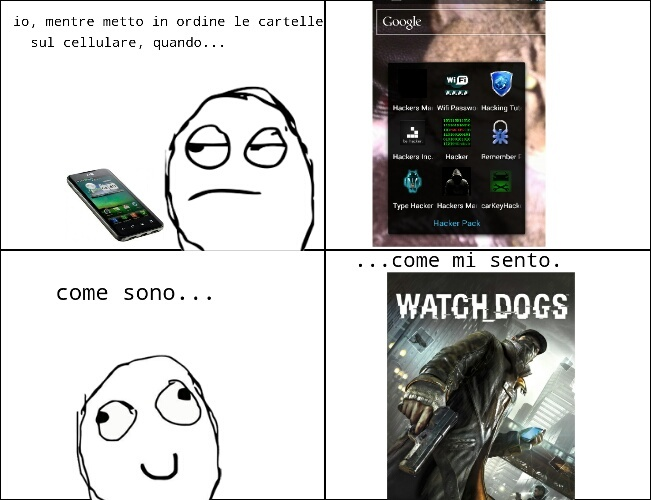 watch dogs... - meme