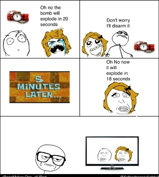 Action Movie Logic - meme