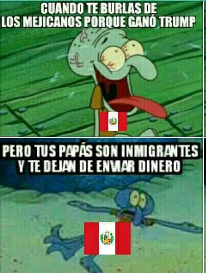 Jaja stos peruanos - meme
