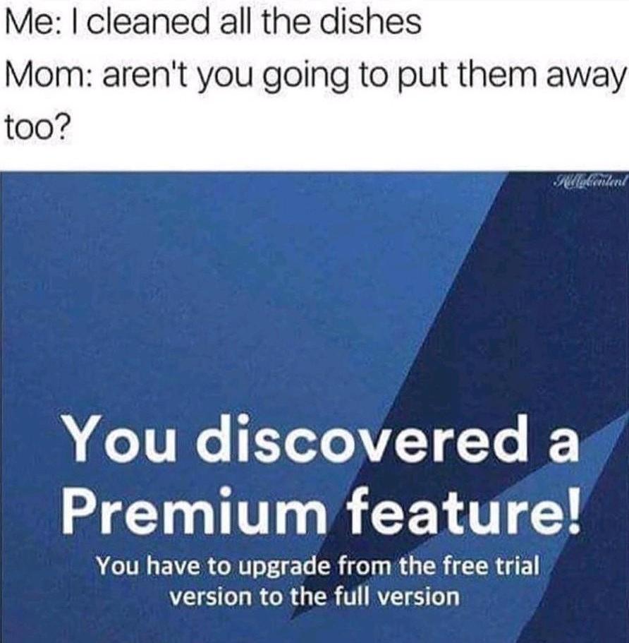Premium - meme
