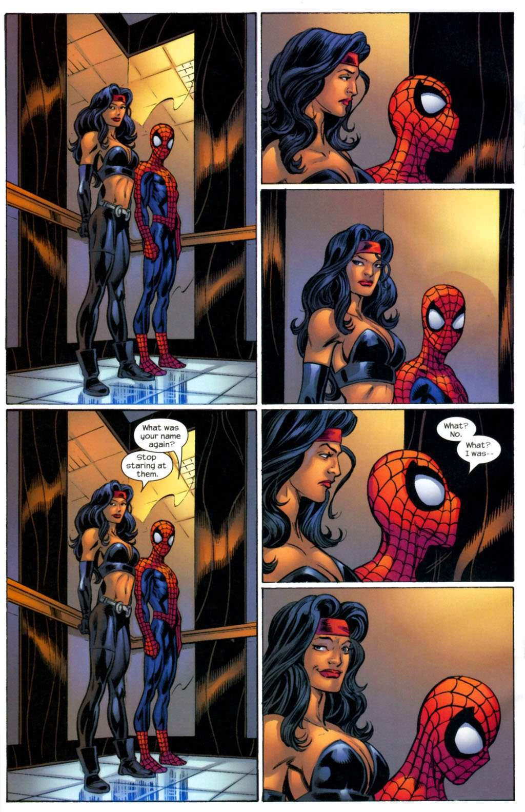 Spidey just being Spidey - meme