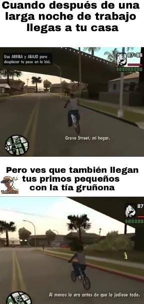 San Andreas - meme