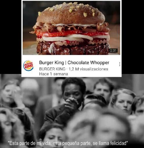 Quiero que todos vean ese video de gordura extrema - meme