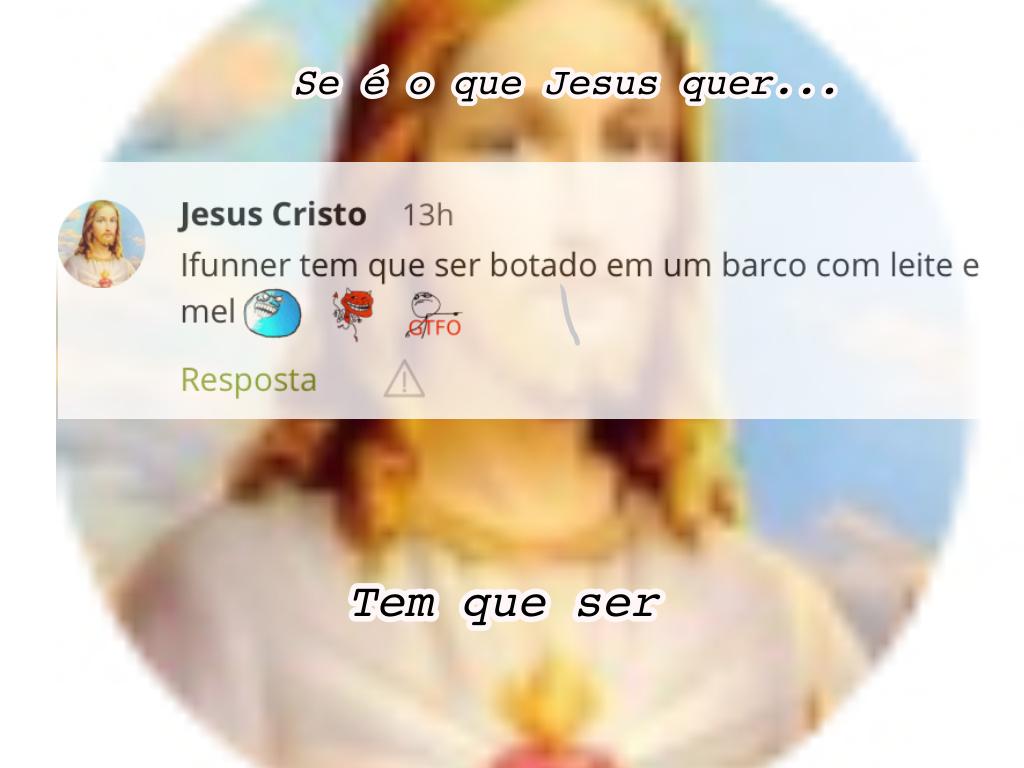 É Jesus né - meme