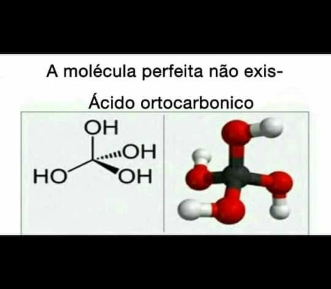 molécula de gás - meme