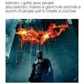 Super heroes in a nutshell
