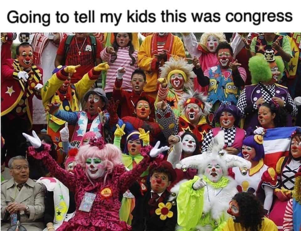 Congressional Clown Posse - meme