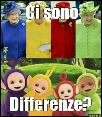 Differenze - meme