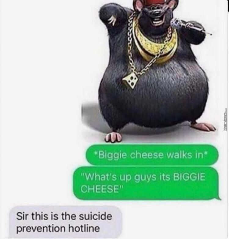 Biggie cheese - meme
