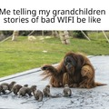 But Grandpa I thought that 3g connection was a myth!