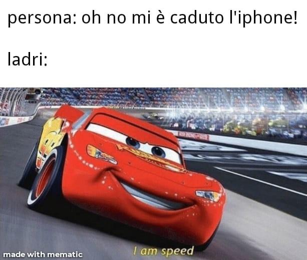 Cars ladri - meme
