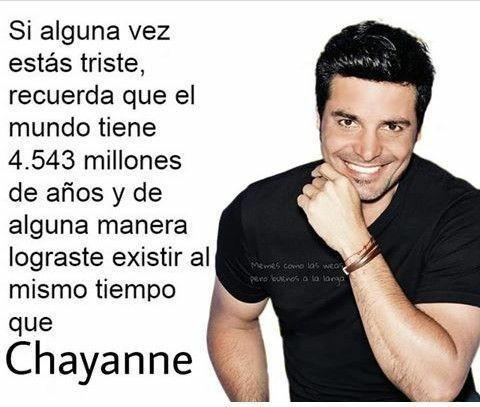 Weon, es Chayanne - meme