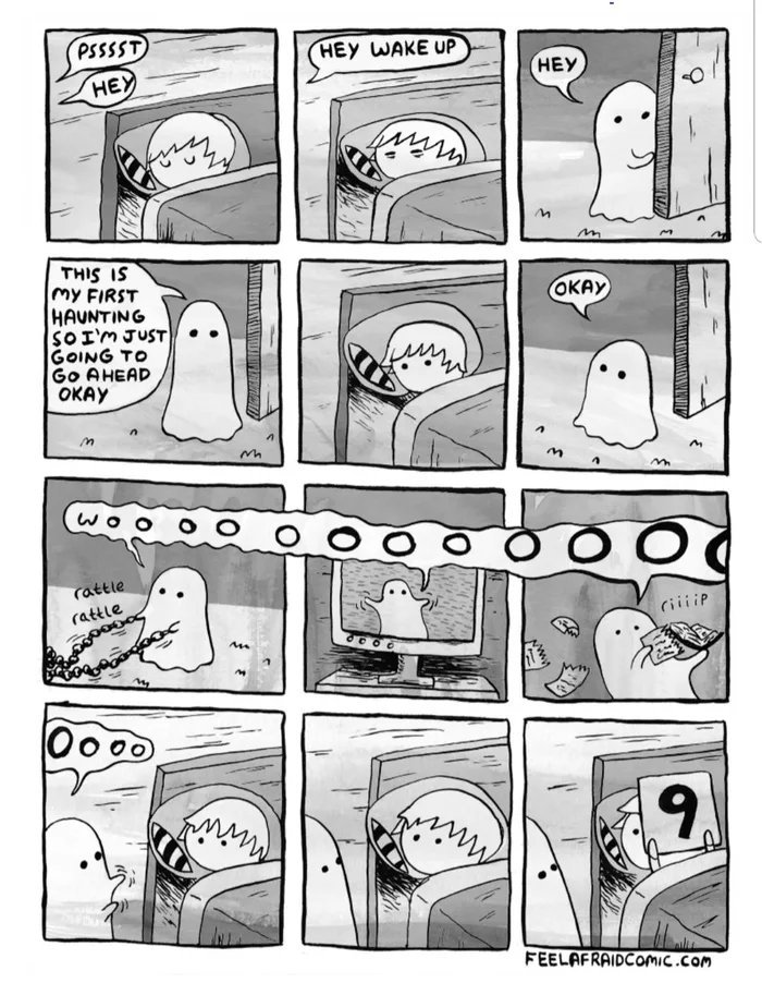 Wholesome ghost - meme