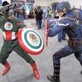 Capitão América vs Capitão mexicano