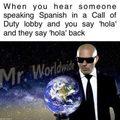 I am Mr. Worldwide