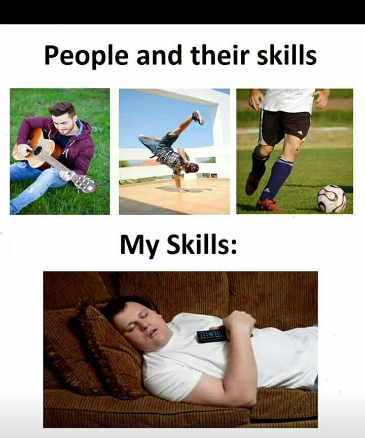 My skillz - meme