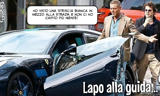 Incidente con la Ferrari - meme