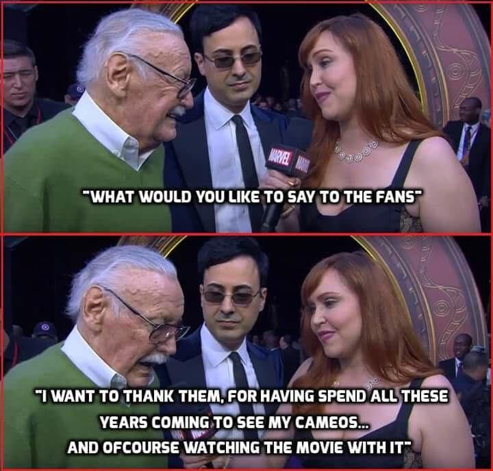 Good ol' Stan Lee - meme