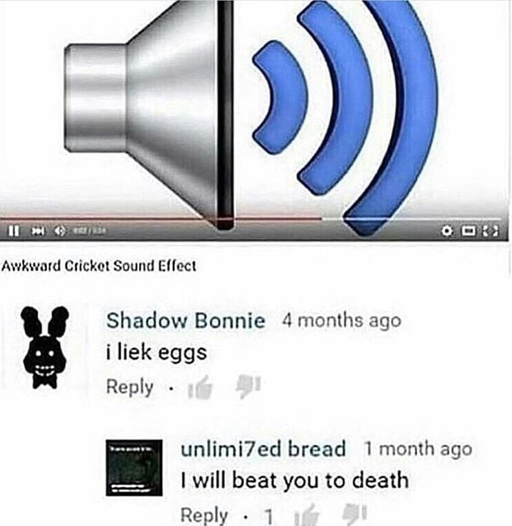 YouTube comments summed up in one picture - meme
