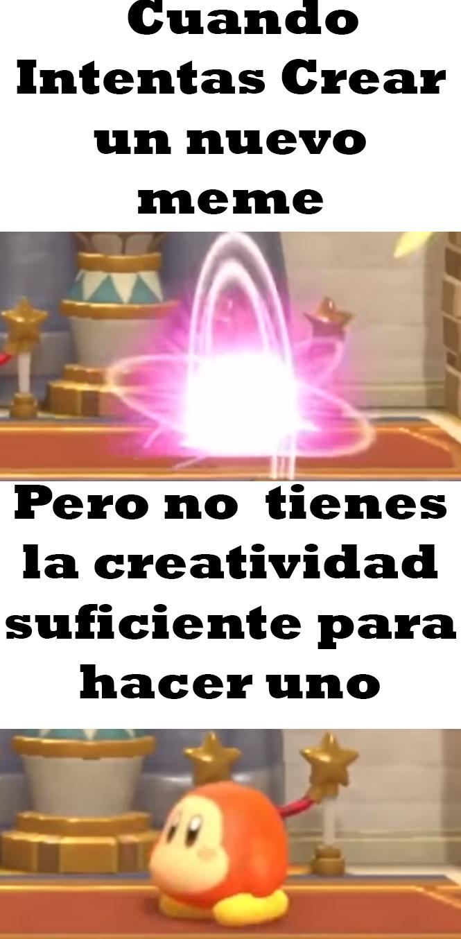 Creatividad Nivel 50 - meme