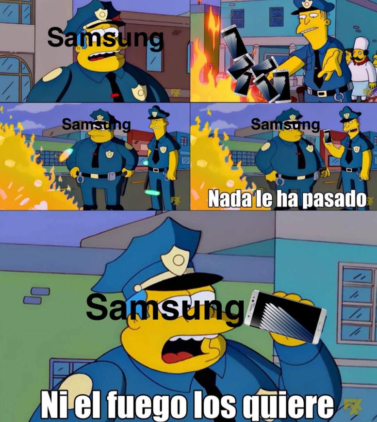 Samsung 7 note - meme