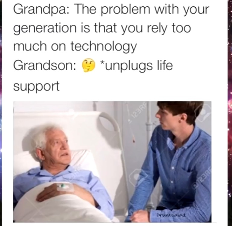 sorry grandpa - meme