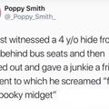 Spooky scary midgets