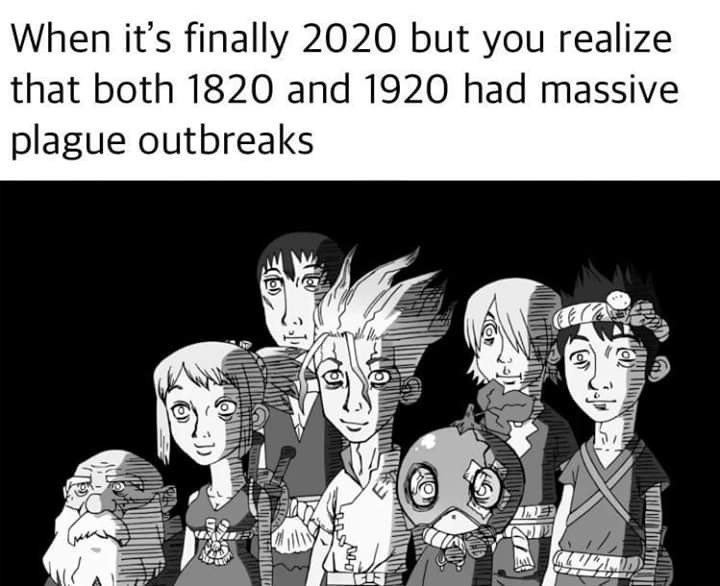 Anime is Dr. Stone, definitely worth the watch! - meme