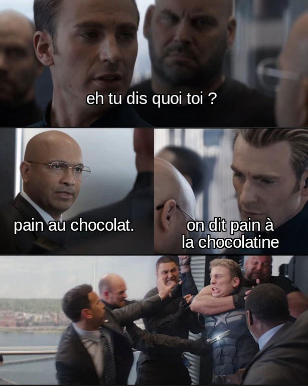 ON DIT CHOOOOCOOOOTUUUUBE non c'est pourri - meme