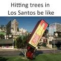 Tree Stronger than Truck???