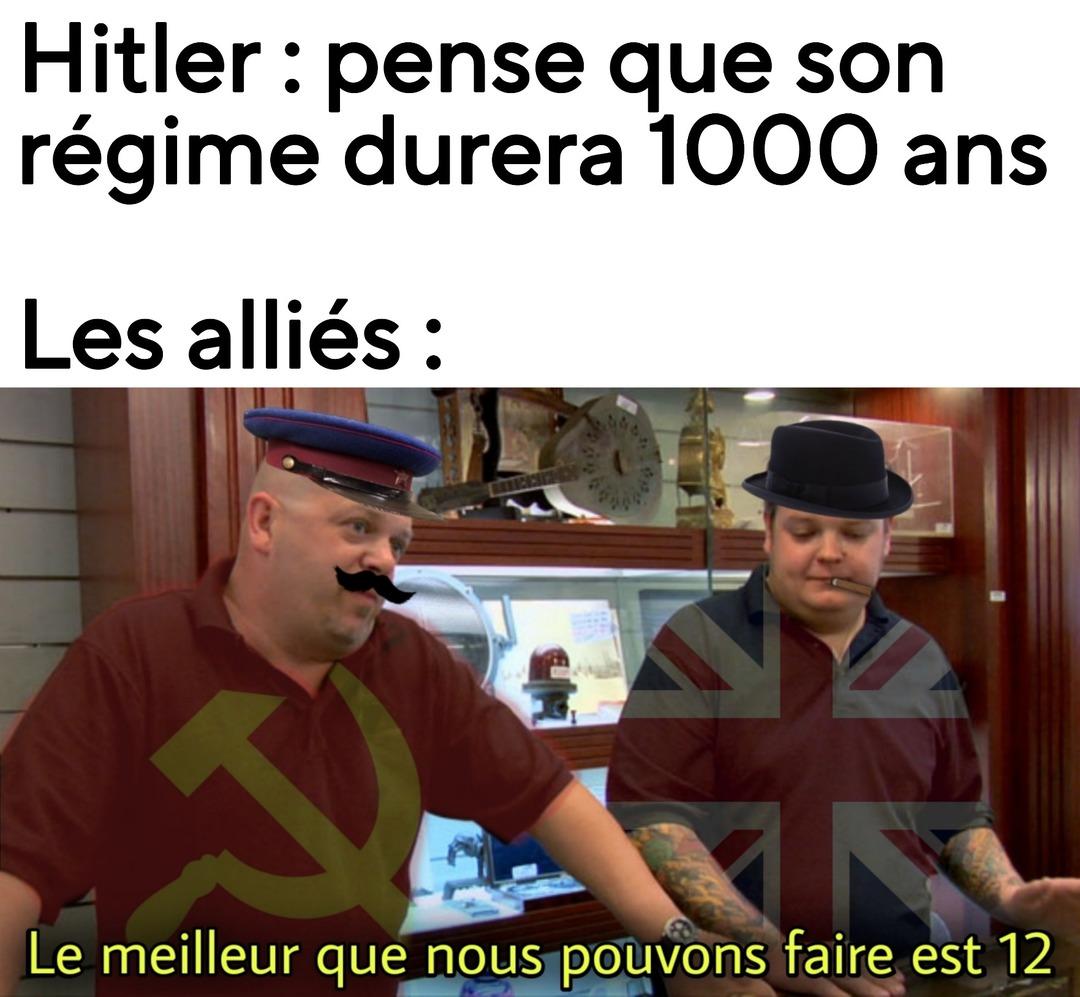Même Mussolini a réussi à faire plus ! - meme
