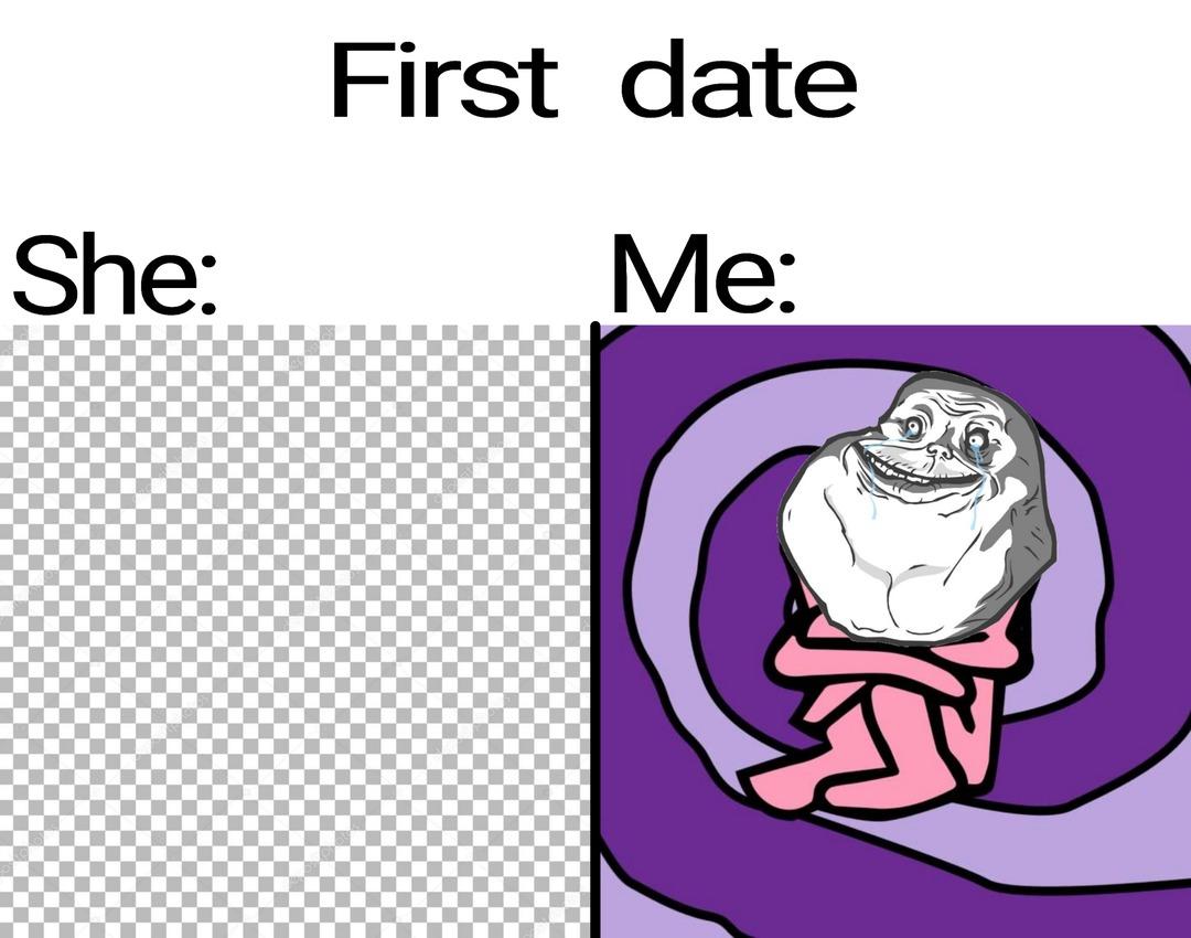 First Date! - meme