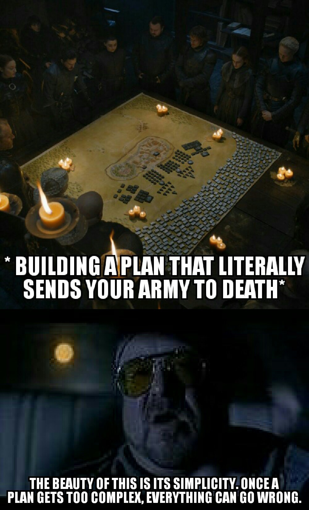 A perfect plan - meme